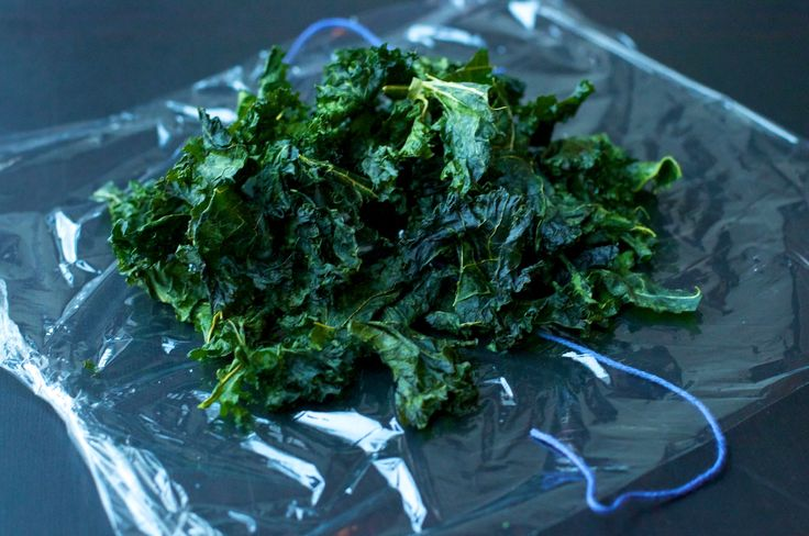 simple salt and vinegar kale chips via vegan culinary crusade