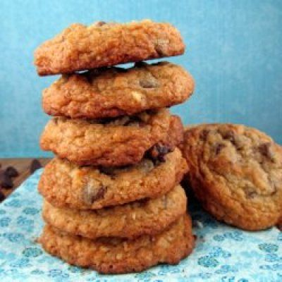 Chocolate Chip Coconut Crunch Cookies | Um, yes. | Pinterest