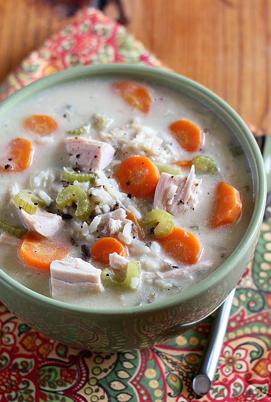Turkey & Wild Rice Soup -- So here's how to make this simple, creamy ...