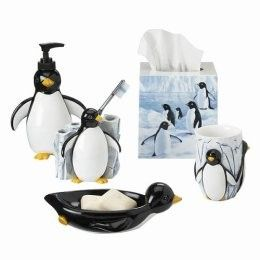 Penguin Bath Accessories Home Sweet House Pinterest
