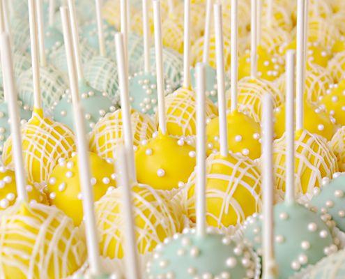 Lemon Cheesecake Cake Pops, need I say more?