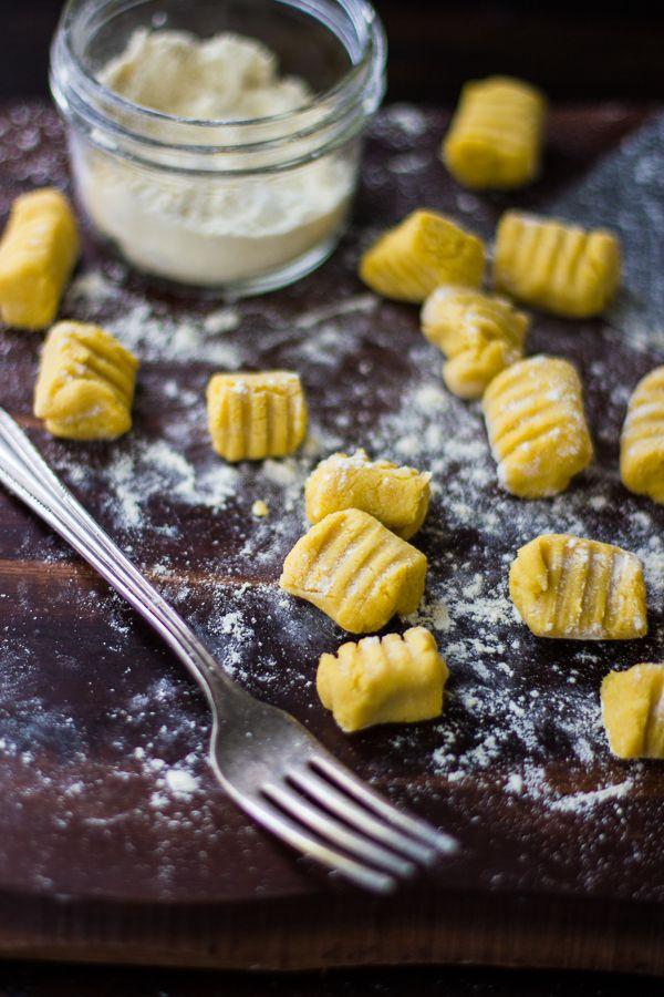 Gluten-Free Pumpkin Ricotta Gnocchi with Pancetta and Seared Radicchio ...