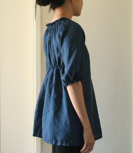 Women'S Linen Blouse 95