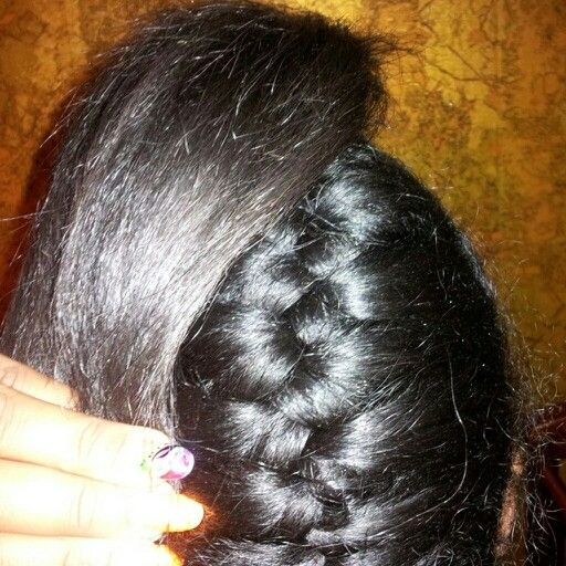 Underhand Braid Weave Hairstylegalleries