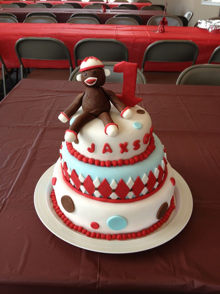 Sock Monkey Cake Ideas