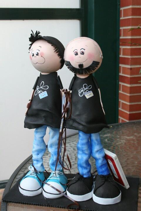 Figuras de gomaeva. Autora Marian Mtz. de Yuso