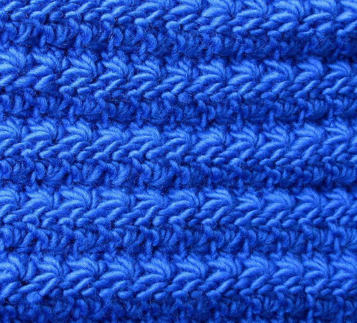 ... and reversible star stitches. Crochet Stitches Pintere
