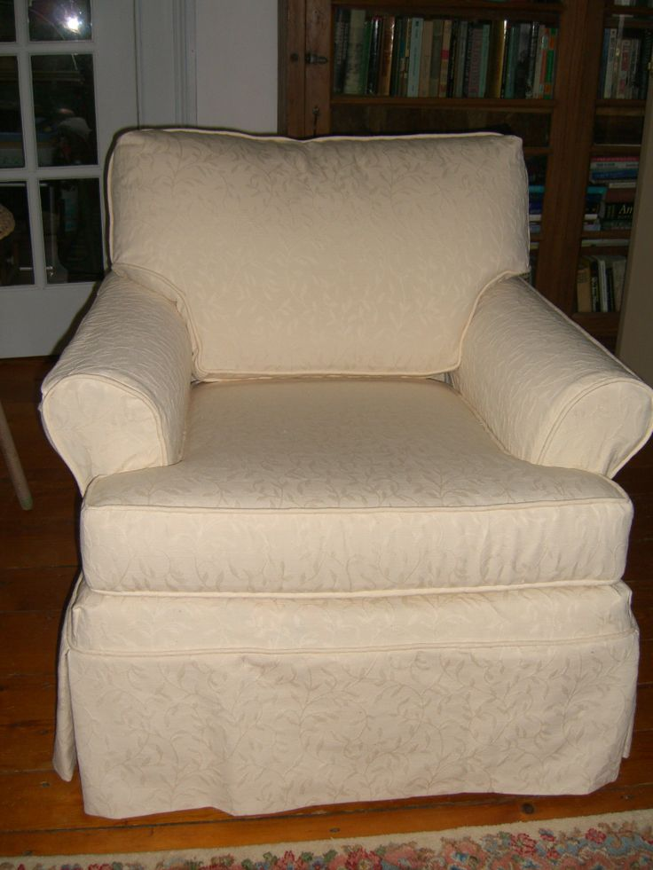 How to Slipcover a Chair images
