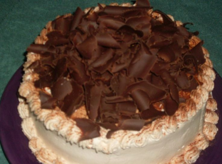 Tiramisu Layer Cake - what about pureeing some cherry pie filling and ...