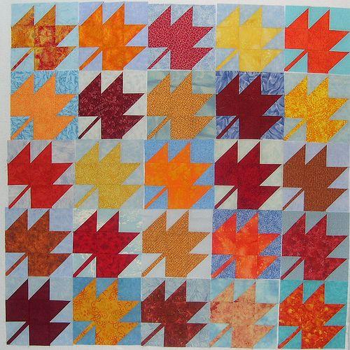 Quilt Pattern For Maple Leaf : Maple Leaf Quilt quilts Pinterest