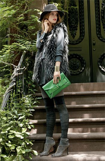 Love (faux) fur vests!
