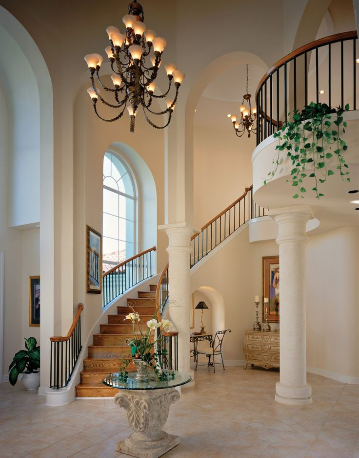 Pin by bonnie abc on foyer pinterest for Beautiful foyer lighting