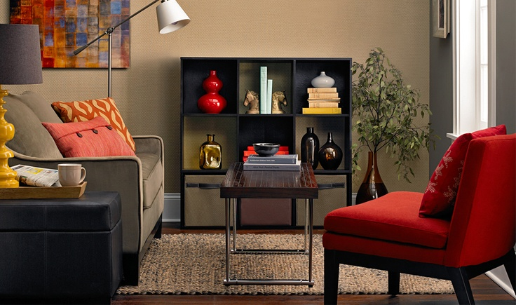 Clean, colorful and coordinated. #Target #home