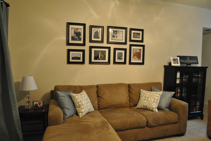 Photo Collage In Living Room My Dream Home Love It