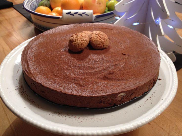 Chocolate Truffle and Amaretti Torte - Delia Smith