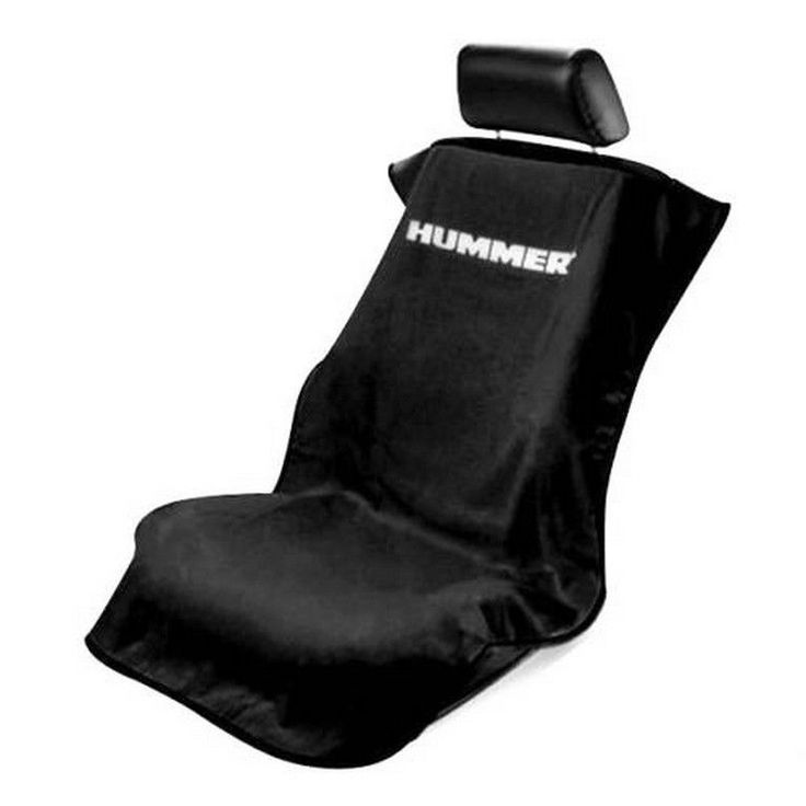 Details about brand new 2006 2010 hummer h2 h3 universal black seat towel seat armour cover