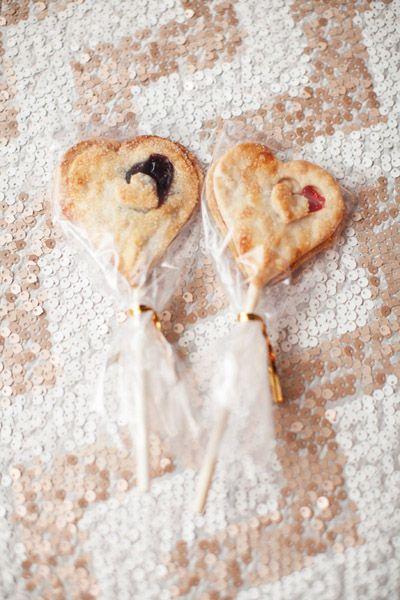 heart shaped pie pops | someday....