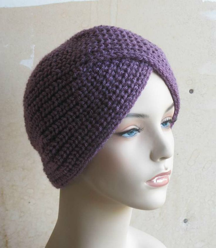 Turban Knit Hat Knitted Turban My Knitting Pinterest