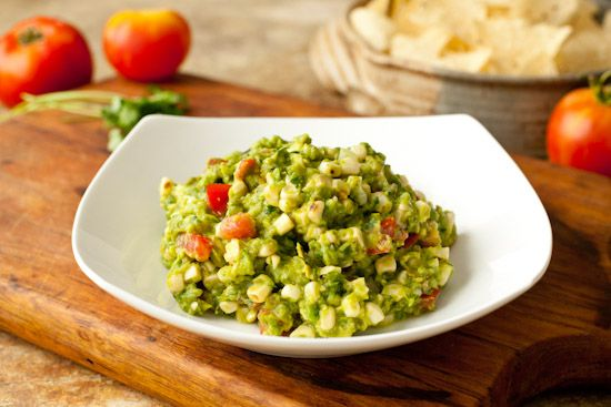 Grilled Corn Guacamole | Recipes: Appetizers & Dips (Sweet & Savory ...