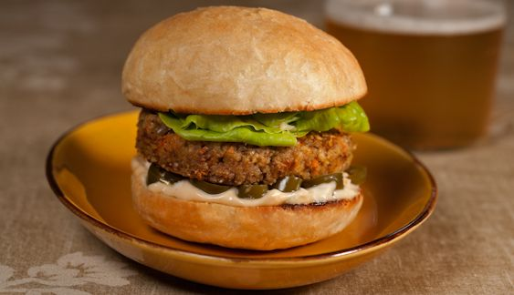 ... Mills' Black eyed pea burgers - gluten free and vegetarian, vegan too