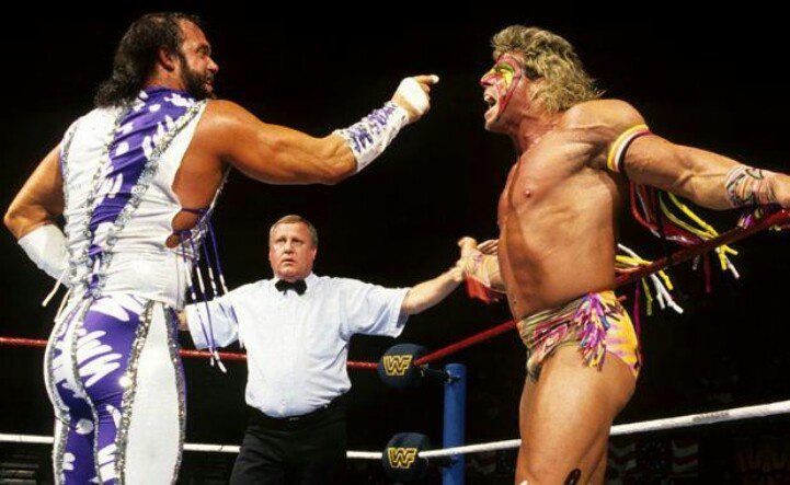 Savage vs warrior | WWE and other wrestling | Pinterest