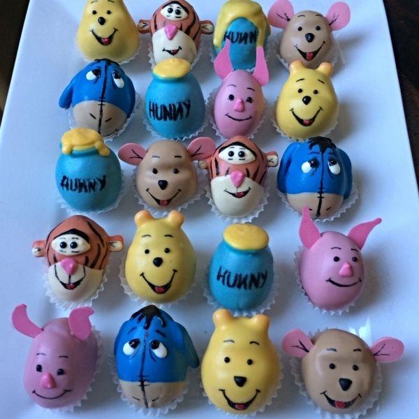 Winnie the Pooh Cake Balls