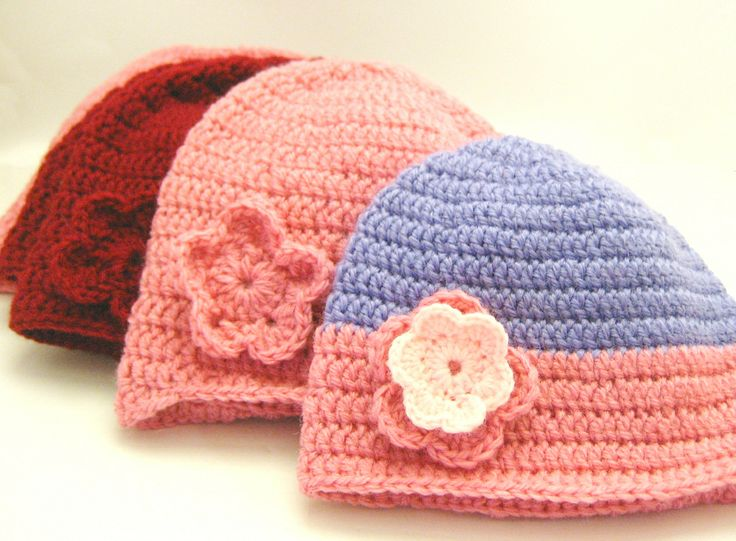 Crochet Websites For Beginners : Double Crochet Beanie Tutorial For Beginners