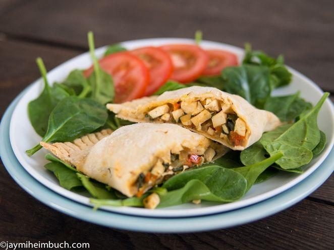 Great recipe for GF & Vegan Southwest Style Breakfast Hot Pockets
