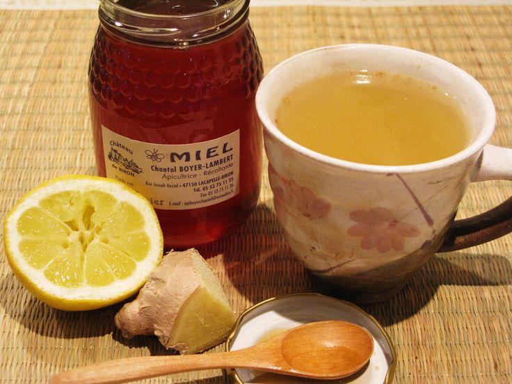 Soothing Ginger Lemon Honey Tea | Feel Good | Pinterest
