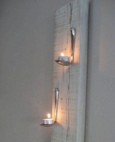 Porta velas reciclado!!!