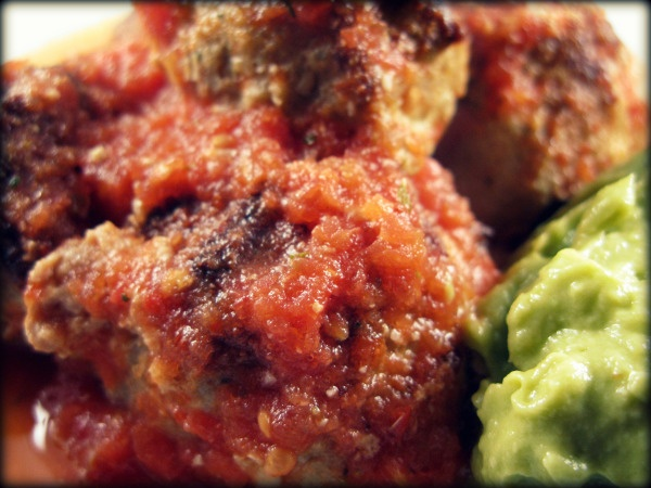 Palep chipotle meatballs with guacamole | Recipes | Pinterest