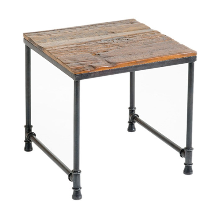 Hugo end table industrial pinterest for Small industrial coffee table