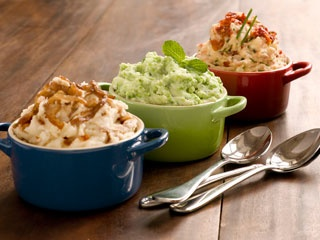 Mashed Potatoes with Peas and Mint | Foodstuff | Pinterest