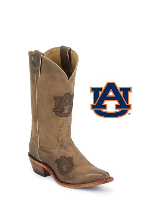 Nocona Women's Auburn Brown Cowhide Branded Cowgirl Boot  http://www.countryoutfitter.com/products/27431-womens-auburn-brown-cowhide-branded-boot #cowgirlboots