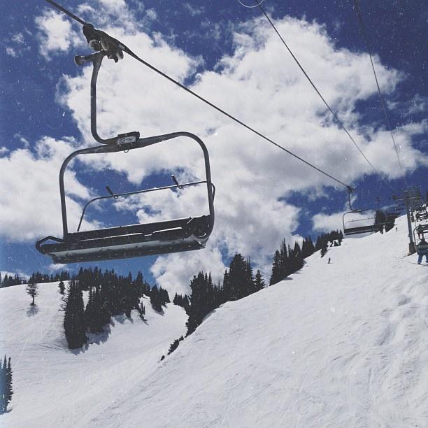 ski lift skiing snowboarding - photo #10