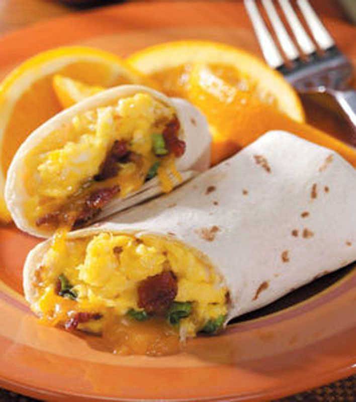 Breakfast Burritos | Breakfast Food | Pinterest