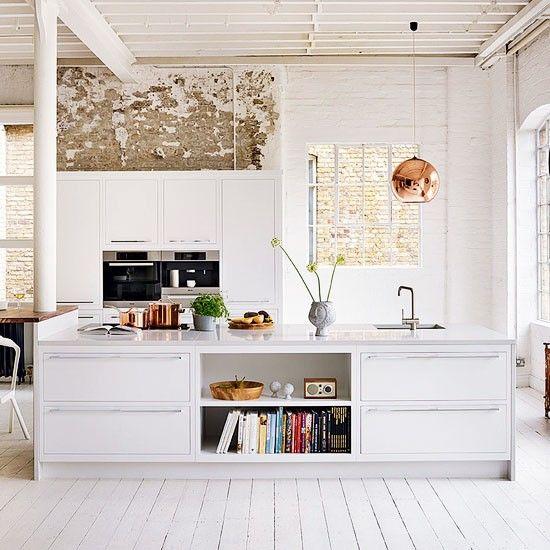 Modern shabby chic kitchen k i t c h e n pinterest - Shabby chic modern kitchen ...