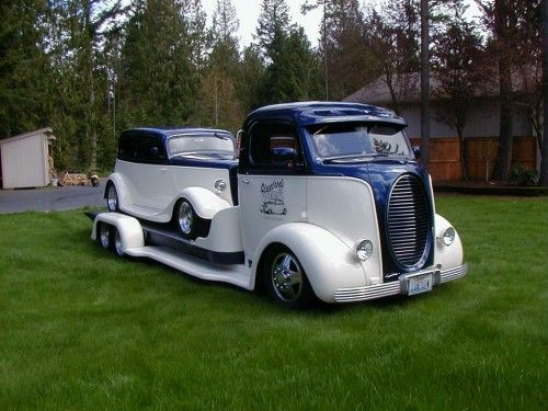 street rods by denny tow truck