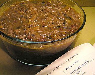 Bigos • Polish hunter's stew Polish: bigos [ˈbʲiɡɔs]