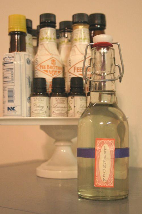 lavender simple syrup recipe | Fleurty Naturelle | Pinterest