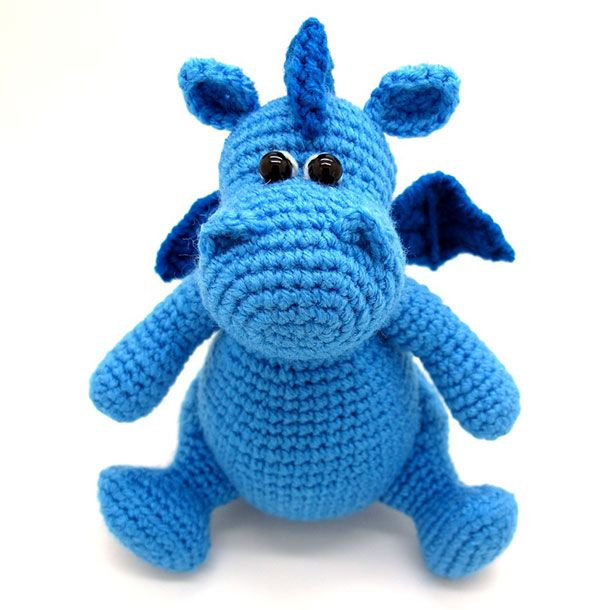 Grow, Baby dragon amigurumi crochet pattern by Masha Pogorielova ...