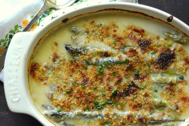 Asparagus Gratin | veggies @ side dishes | Pinterest
