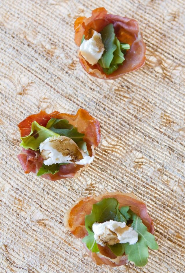 Prosciutto Cups Recipe — Dishmaps