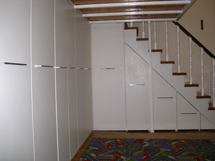 cabinets under loft and stairs diy home pinterest