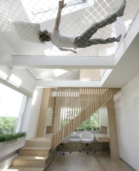 Indoor hammock indoor hammock indoor hammock pinterest for Indoor hammock design