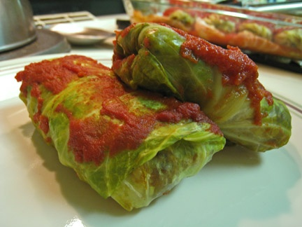 Italian-Style Stuffed Cabbage Rolls | Delicious Dishes | Pinterest