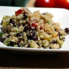 Black Bean And Heirloom Tomato Quinoa With Lemon Dressing (via www ...