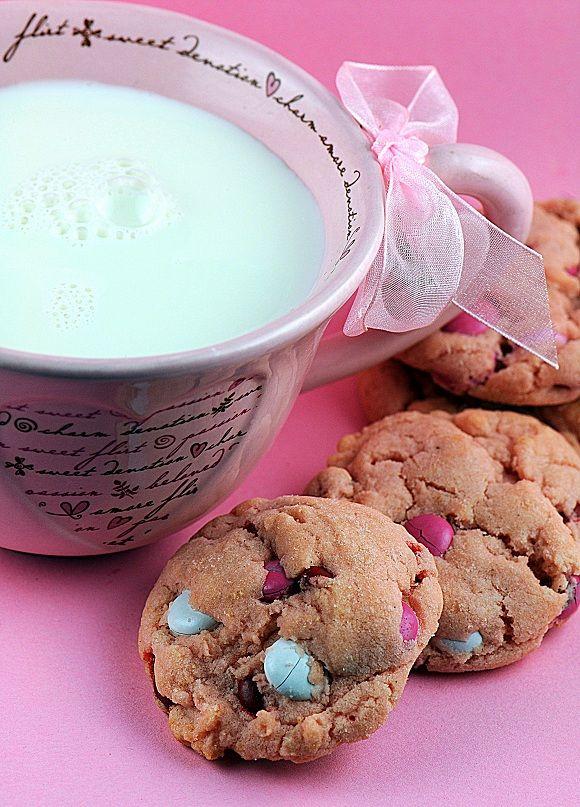 Vanilla Malted Valentine M Sugar Cookies | Coooooookies! | Pinterest