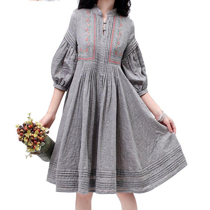 Платье в стиле фолк