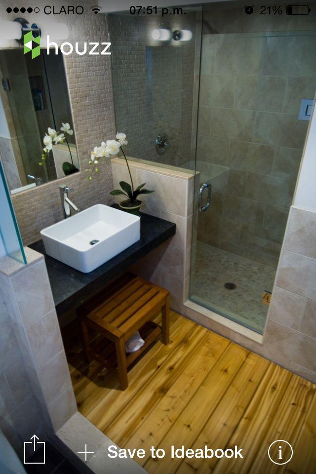 Baño De Visita Pequeno:Baño de visita (pequeño y con ducha)
